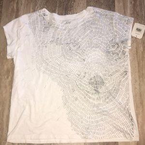 Levi's White Short Sleeve Shirt